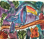 rainforest painting 2