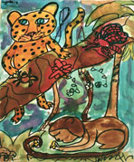 rainforest painting 1